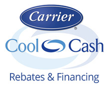 Learn about Carrier Cool Cash Rebates and Financing