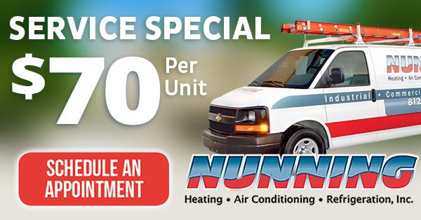 HVAC Service Specials